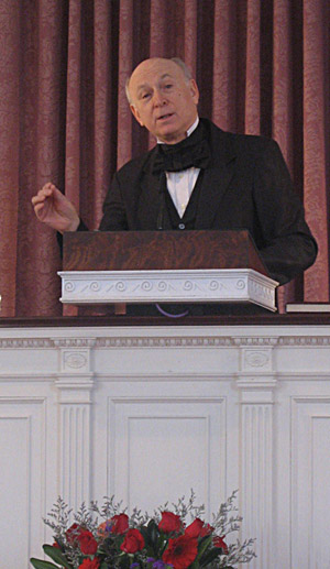 Rev. Richard Fewkes as Theo Parker