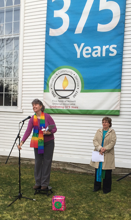 Peace Rally - Rev. Lise